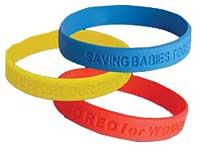 Promotional Silicone Awareness Bracelets