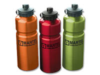 Aluminum Sports Bottles, Thirst Quencher Collection, 26 oz.