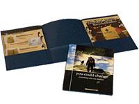 Printed Three Pocket Tri-Panel Folders