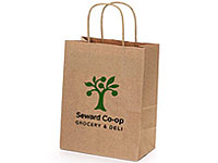 "8"" x 10-1/2"" Recycled Kraft Bags"