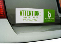 Bumper Sticker Sized Magnets, 3