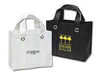 "13"" x 11"" Non-Woven Reusable Shopping Bags"