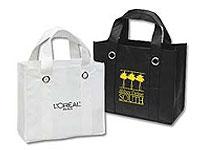 """13"""" x 11"""" Non-Woven Reusable Shopping Bags"""