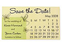 "2-3/4"" x 1-3/8"" Save the Date Magnets"