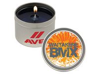 Round Tin Candles, Custom Mixed Gel, 2 Oz.