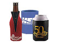 Logo Koozies and Drink Wraps