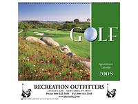 13-Month Golf Calendars