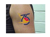 "Temporary Tattoos, 2"" x 2.5"""