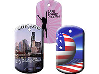 Full Color Epoxy Dog Tags