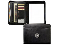 Leather Padfolios, Zippered Closure, Millennium