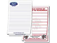"""5-1/2"""" x 8-1/2"""" 100 Sheet Notepads"""
