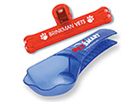 Pet Food Scoops and Clips