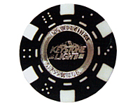 Clay Composite Foil Stamped Poker Chips