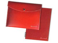 Leather Snap Portfolios