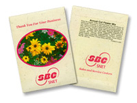 Annual Flower Seed Packets