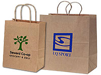 Eco-Friendly Paper Shopping Bags
