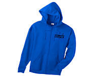 Anvil Full-Zip Organic/Recycled Hood Sweatshirts