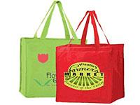 """13"""" x 13"""" Non-Woven Poly Shopping Bags"""