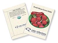 Organic Radish Seed Packets