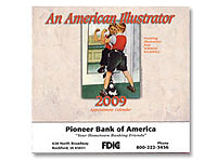 American Illustrator 13 Month Calendars