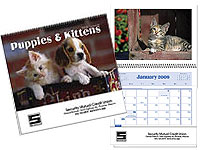 Puppies & Kittens Pocket Calendars