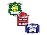 Municipal & Parking Decals