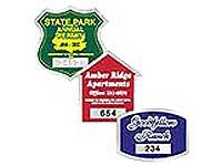 Municipal & Parking Decals