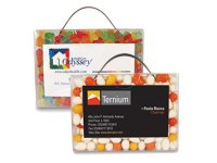 Tote 'N' Treat Business Card Holders, Candy Or Mint Filled, 2 Oz.