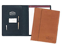 Leather Saddle Padfolios