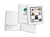 Expandable Two Pocket Folders