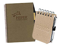 Eco-Friendly Journals, Binders and Folios