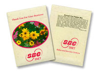 Annual Cut Flower Seed Packets