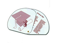 Expandable Graduation Fans, High Gloss Finish