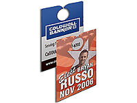 "3-1/2"" x 6-3/4"" Full Color Door Hangers"