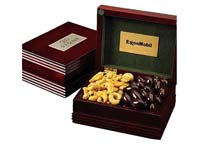 Deluxe Wood Box Filled w/ Premium Confections