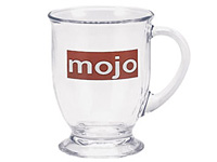 16 oz. Cafe Glass Mugs