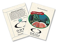 Organic Watermelon Seed Packets