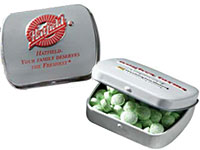 Kosher Embossed Mint Tins