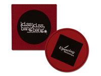 Leather Coasters, Duo-Tone