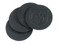 Leather Coasters, Top Grain Saddle Bag