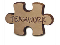 Chocolates, Stock Mold Teamwork Puzzle Piece
