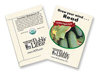 Organic Cucumber Seed Packets