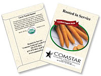 Organic Carrot Seed Packets