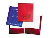 9.5 x 12.5 Expandable Two Pocket Folders