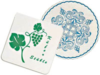 Multi-Ply Cellulose Coasters
