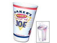 Insulated Paper Cups, 16 oz.