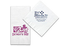 High Quantity 3-Ply White Dinner Napkins
