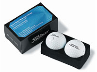 2 Golf Ball Business Card Boxes