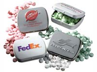 Mints, Embossed Tin