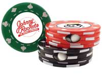 Mint Tins, Poker Chip Tin, 1 Oz. Fill